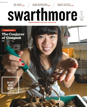 Rebecca Louie The Compostess Compost City Swarthmore College